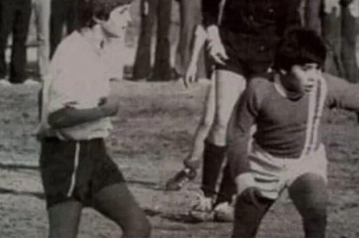 """Polémica por una foto que publicó Marcelo Tinelli sobre Maradona: """"¡Que lío por Dios!"""""""