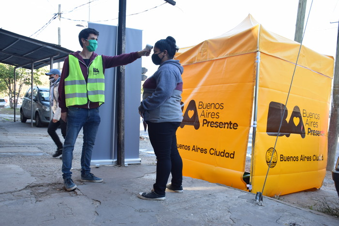 783 nuevos casos de Covid-19 en la Ciudad y 16 muertos