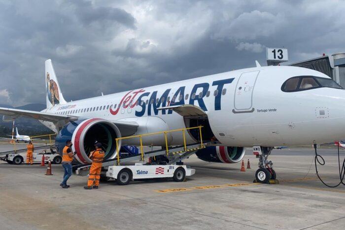 En marzo, JetSMART completará el ciclo de mantenimiento técnico de sus aviones en Argentina