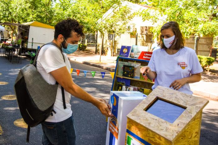 """Dónde está """"Libro Móvil"""" esta semana en las Ferias de la Ciudad"""