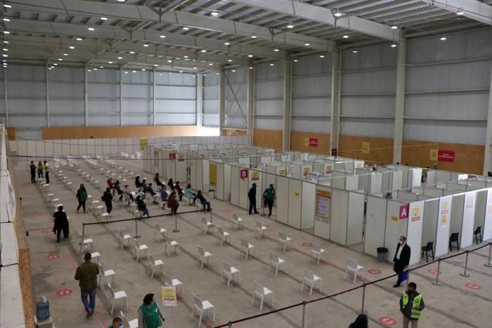 El Parque Olímpico funciona como vacunatorio y centro de inclusión