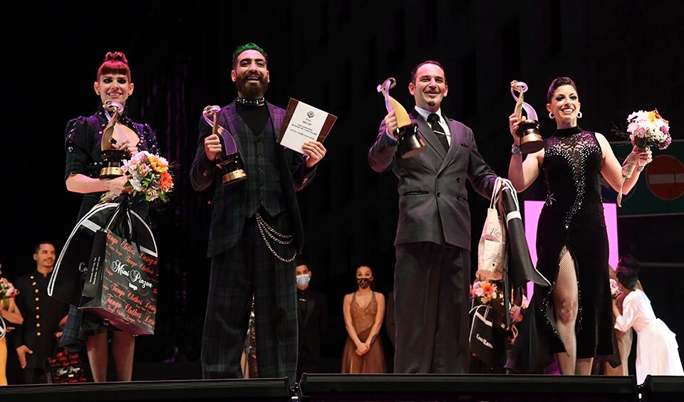 El Festival de Tango consagró a sus dos nuevas parejas ganadoras