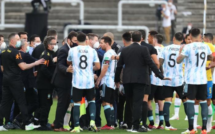 Argentina espera que la FIFA le de por ganado el partido